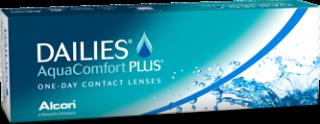 Aqua Comfort Plus Contact Lenses Logo