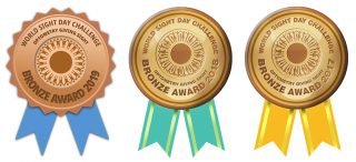 Optometry Giving Sight - Bronze Medallions 360 Eyecare