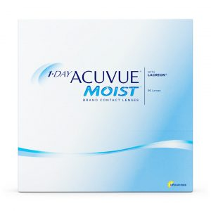 1-DAY ACUVUE® MOIST (90 Pack) Daily Contact Lenses