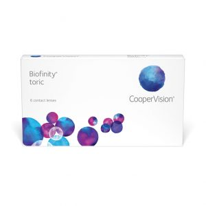 Biofinity® Toric (6 Pack) Monthly Contact Lenses