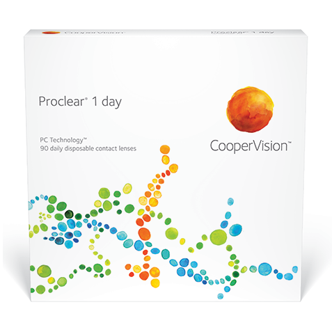 Proclear® 1 day (90 Pack) Daily Contact Lenses