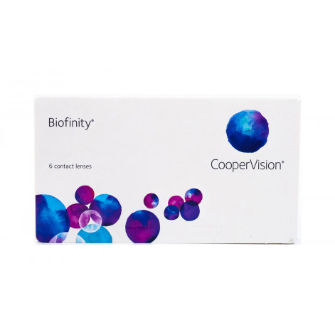 Biofinity® (6 Pack) Monthly Contact Lenses
