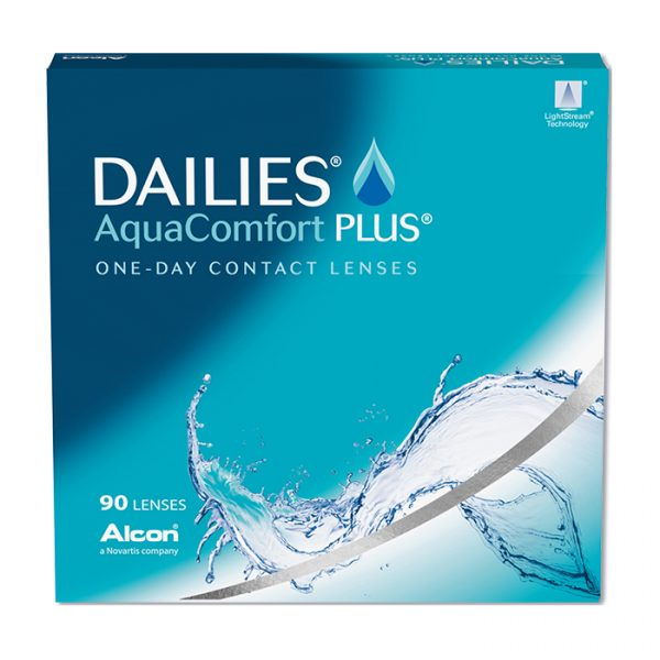DAILIES® AquaComfort Plus® (90 Pack) Daily Contact Lenses