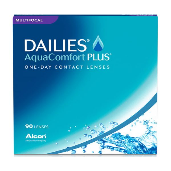 DAILIES® AquaComfort Plus® Multifocal (90 Pack) Daily Contact Lenses