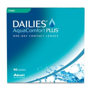 DAILIES® AquaComfort Plus® Toric (90 Pack) Daily Contact Lenses