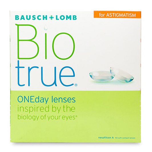 Biotrue ONEday for Astigmatism (90 Pack) Daily Contact Lenses