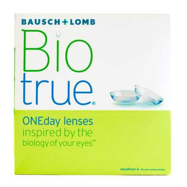 Biotrue ONEday (90 Pack) Daily Contact Lenses