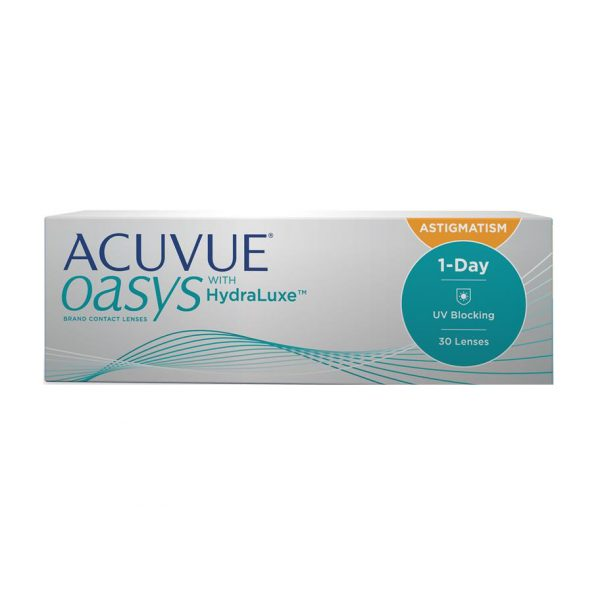 ACUVUE OASYS® 1-Day for ASTIGMATISM (30 Pack) Daily Contact Lenses