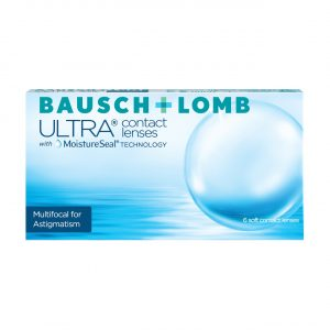 Bausch + Lomb ULTRA Multifocal for Astigmatism (6 Pack) Monthly Contact Lenses