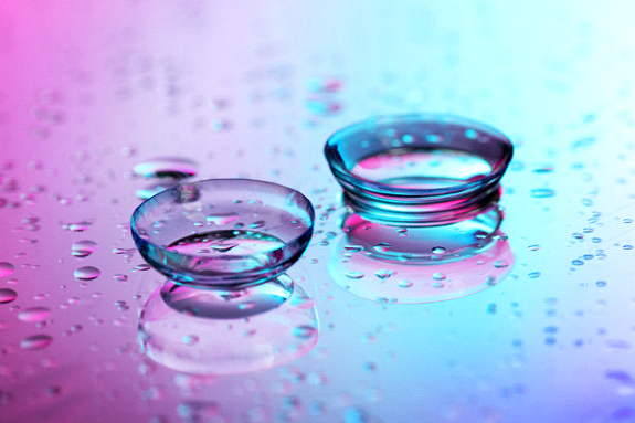 colour contact lenses - 360 eyecare - contacts with water drops