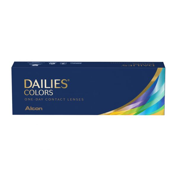 Dailies Colors (30 Pack) Product Box   360 Eyecare