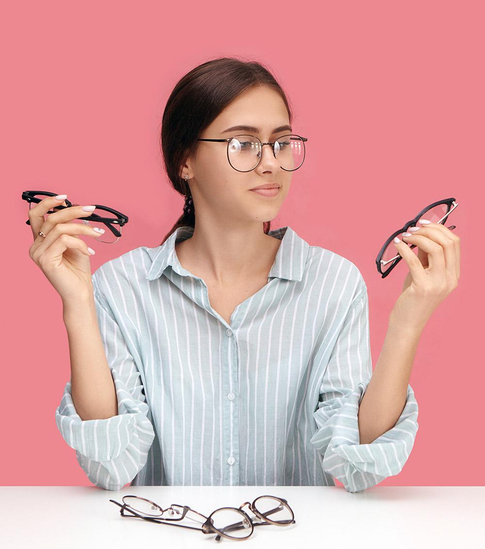 virtual shopping for eyeglasses