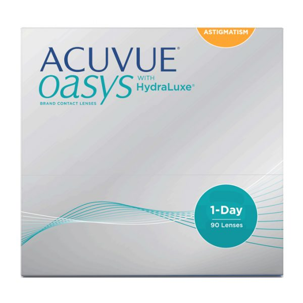 ACUVUE OASYS® 1-Day for ASTIGMATISM (90 Pack) | 360 Eyecare