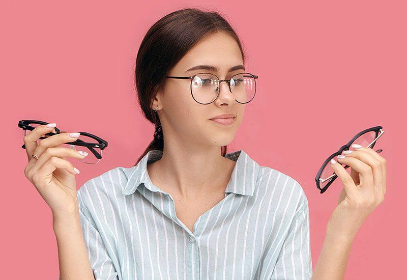 virtual shopping eyeglasses